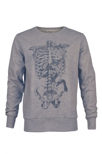 FFOMO Logon Skeleton Graphic Sweatshirt