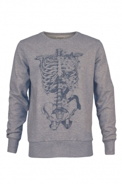 Logon Skeleton Graphic Sweatshirt