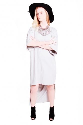 FFOMO Lolo Low- High Hem T-shirt Maxi Dress