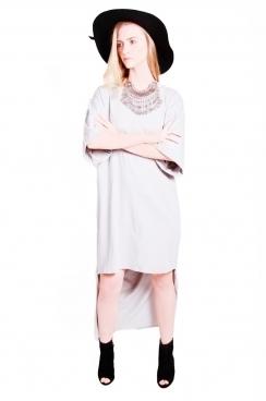 Lolo Low- High Hem T-shirt Maxi Dress