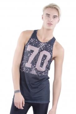 Luca 70 Printed Stringer Vest