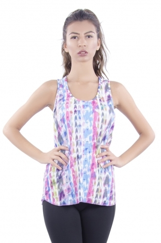 FFOMO Luci Patterned Sporty Vest