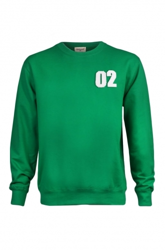 FFOMO Martin 02 Applique Patch Green Sweatshirt