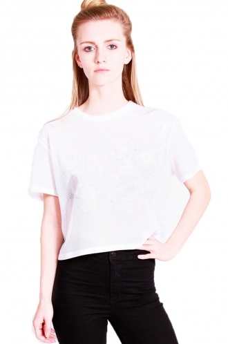 FFOMO Mazie crop top with Airtex