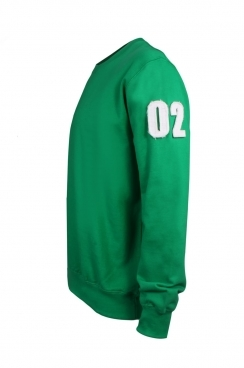 Peter 02 Applique Arm Patch Sweatshirt