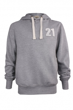 Reece 21 Applique Patch Pullover Hoodie