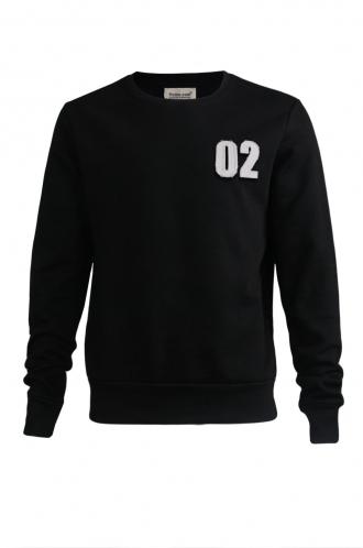 FFOMO Rudy 02 Applique Patch Black Sweatshirt