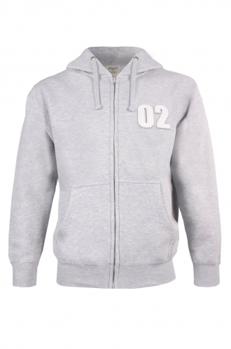 FFOMO Scott 02 Applique Patch Zipped Hoodie