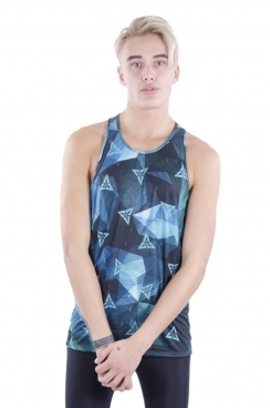Stanley Triangle Printed Stringer Vest