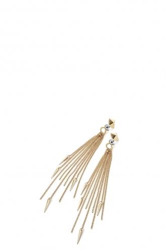 FFOMO Stud Tassel Drop Earring