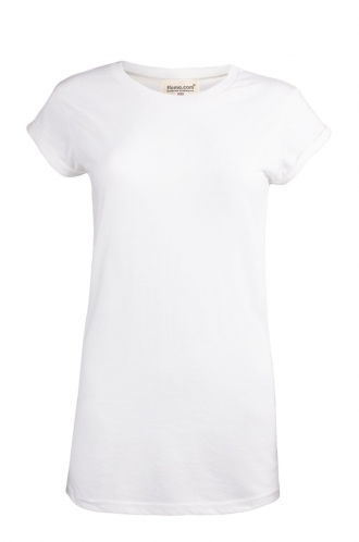 FFOMO Tania Plain Rolled Sleeve T-shirt