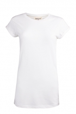 Tania Plain Rolled Sleeve T-shirt