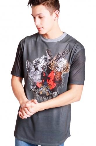 FFOMO Thomas animal College Classic Fit T-shirt