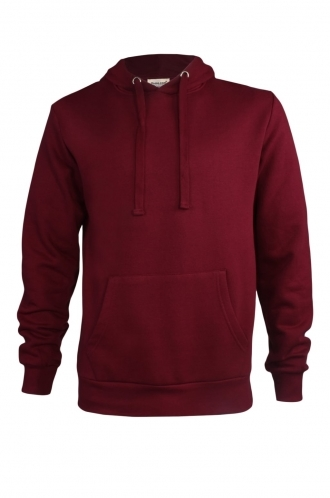 FFOMO Thomas Simple Burgundy Pullover Hoodie