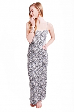 Tilly Paisley Strappy Maxi Dress