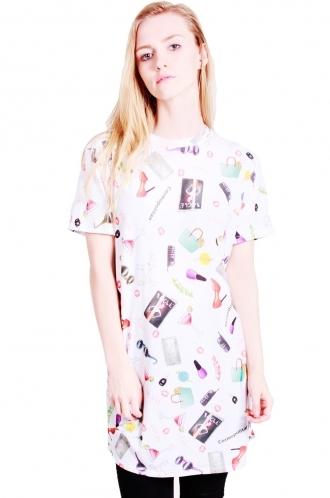 FFOMO Trixie t-shirt dress scoop neck