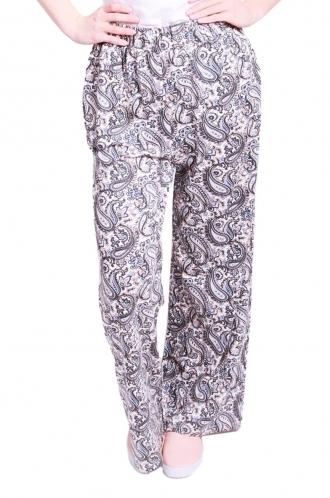 FFOMO Tyler Paisley print wide leg trousers.