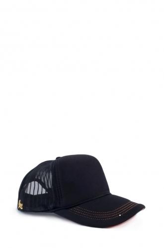 FFOMO Unisex Black Mesh Cap