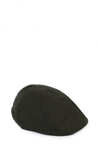 FFOMO Unisex Dark Khaki Embroidered Flat Cap