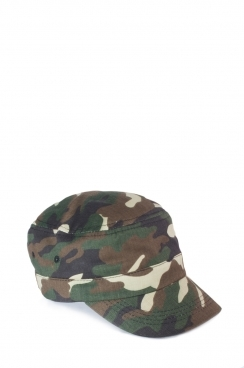 Unisex Khaki Army Cap In Camo