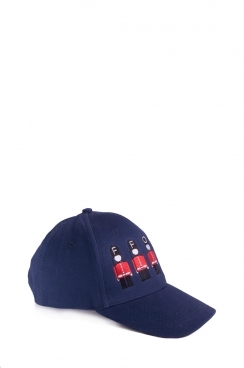 Unisex Solider Embroidered Navy Cap