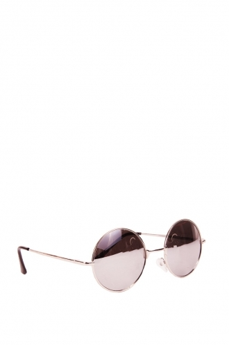 FFOMO Unisex Taylor black frame and silver tinted lens sunglasses.