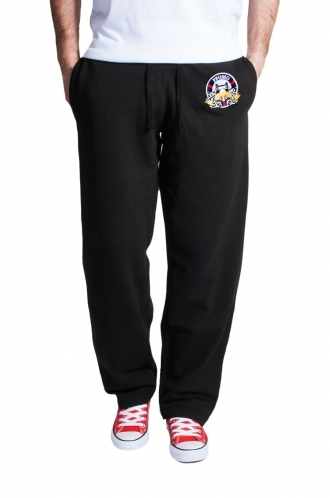 FFOMO Philip Black ffomo embroidery jogger