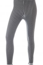 Aileen All Over Dogtooth Print Leggings