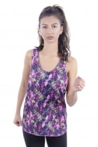 Erin Mixed Print Sporty Vest