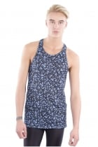 Harley cross over printed Stringer Vest