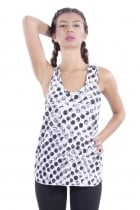 Isla Dotted Sporty Vest