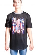 Luke USA Print Classic Fit T-shirt