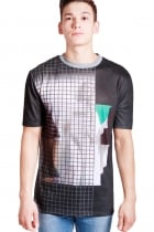Tyler Mother Mary & Grid Print Classic Fit T-shirt
