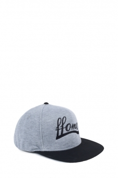 Unisex FFOMO Contrast Black and Grey snapback