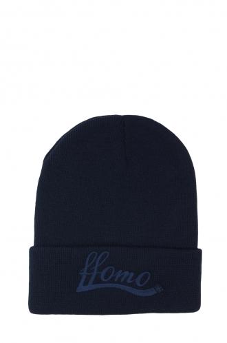 FFOMO Unisex Navy FFOMO Embroidered Beanie Hat