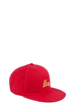Unisex Red Embroidered FFOMO Snapback